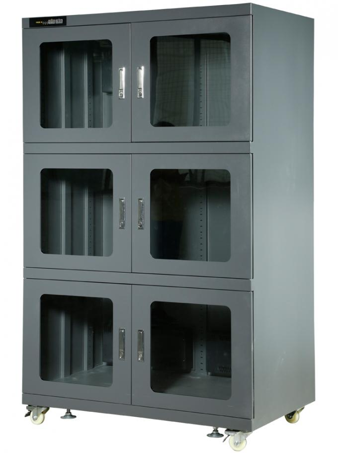 LED Digital Displa Electronic Dry Cabinet 165 Liters To 1482 Liters Capacity
