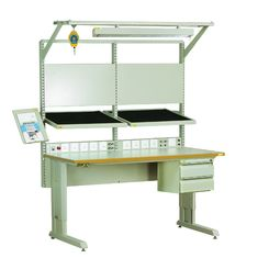 China Customized Adjustable Anti Static Workbench , Production Industries Workbench supplier