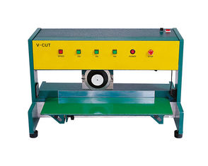V CUT PCB Depaneling Machine PCB Depaneler 0.6mm - 2.6mm Thickness 39kg
