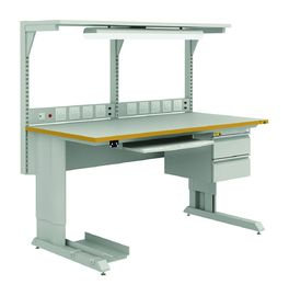 China Fire Proof Anti Static Table Esd Workbench Heavy Duty Steel For Industrial supplier