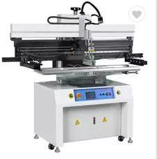China High Accuracy SMT Assembly Machine Chimall Semiautomatic Solder Paste Printer supplier