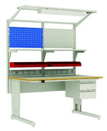 Industrial Anti Static Workbench With Monitoring System ESD Wrist Straps