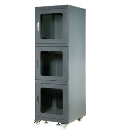 Black Anti Static  Electronic Dry Cabinet With 1% - 10% RH Humidity Range