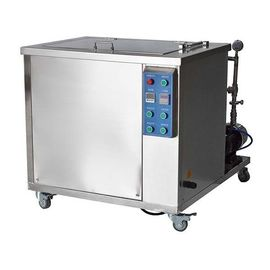Stainless Steel Ultrasonic Industrial Cleaning Equipment With Oil Filter System